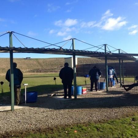 Clay Pigeon Shooting Rufforth Nr York The Big Shoot United Kingdom